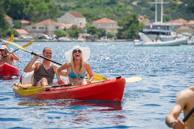 Korcula Island Private Sea Kayaking Tour and Snorkel Combo