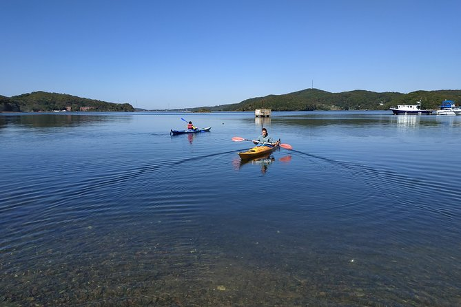 Kayak tour at beautiful bay