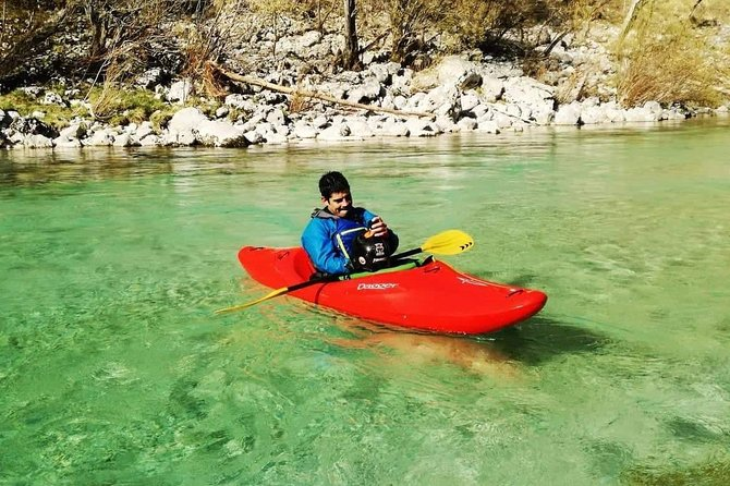 3 DAY KAYAK CLASSES on the Soča river