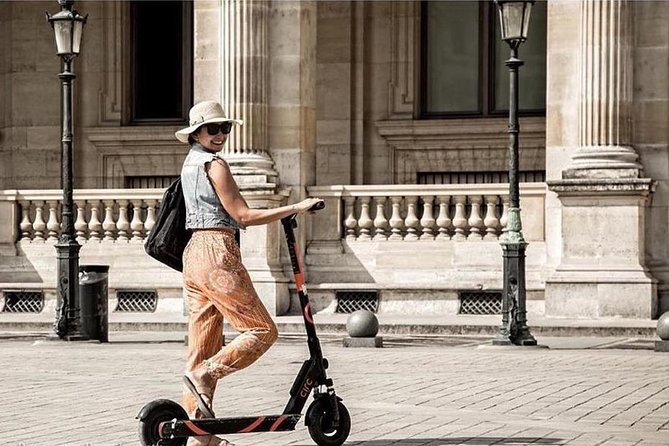 Paris : Electric Scooter Ride And Get To Know The History Of Paris
