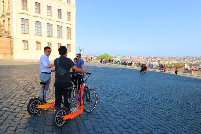 Medieval Prague - E-Bike / E-Scooter City Tour