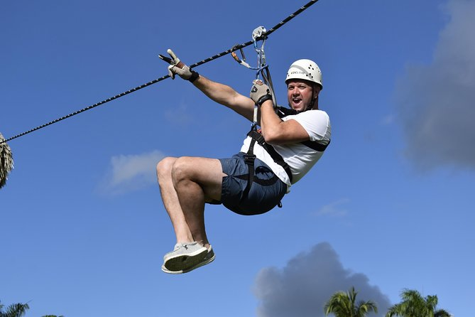 Zipline the only Carbon fiber - From Punta Cana
