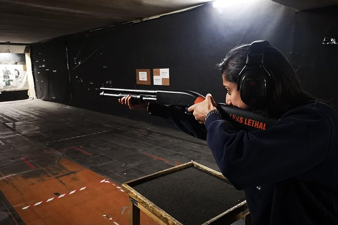 Try real weapons - Desert Eagle, Magnum revolver, Winchester, AK and many more.