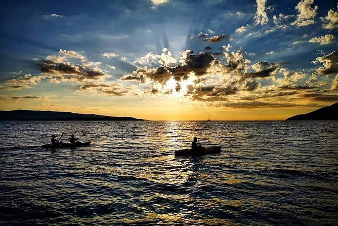 Sea Kayak Magnificent Sunset over Zlatni rat