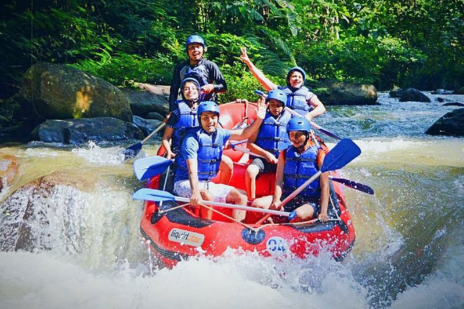 Ayung White Water Rafting and Kintamani Volcano Tour : Bali Best One Day Trip