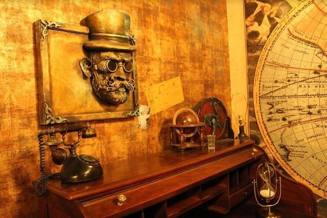Private 1-Hour Escape Room Steampunk Train in Las Vegas