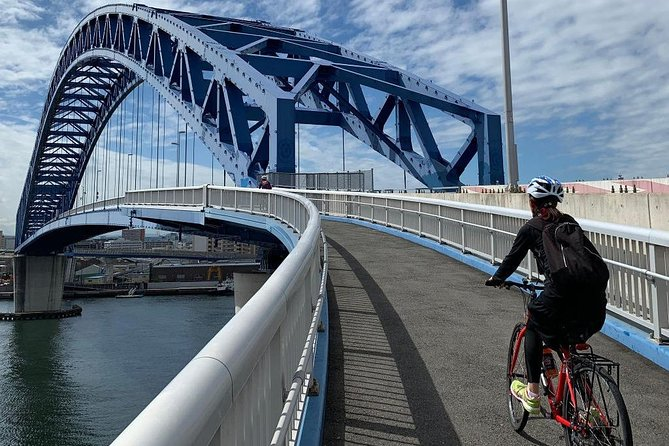 Osaka Harbour Cycling Tour - Explore the Harbour, Rivers and Sights