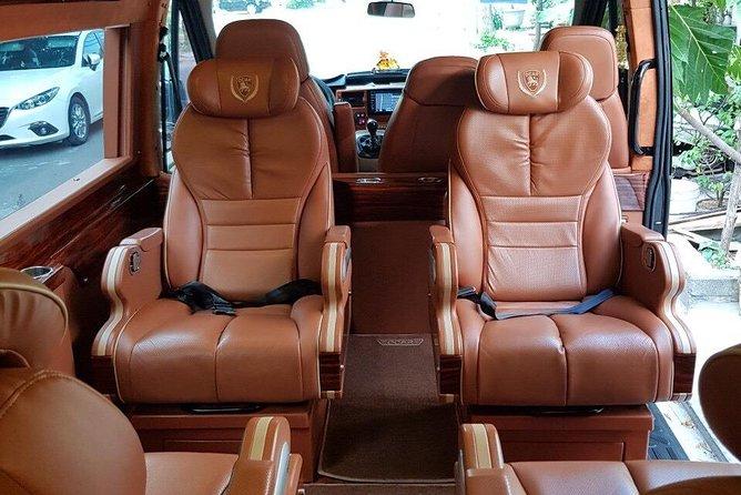 HAN Airport pick up by Ford Transit Luxury Van ( Dcar Limosine )