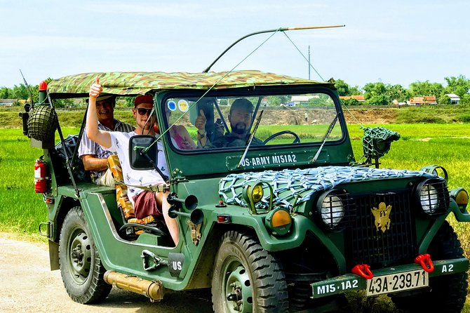 Hoi An Countryside Tour by Private Jeep from Da Nang