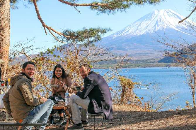 Mt.Fuji homemade BBQ,1000 yen bill view in Lake Motosu,Shiraito Falls 1-Day Trip