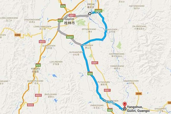 Transfer from Guilin Hotels to Yangshuo Town photo 1