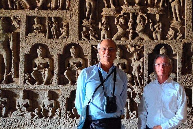 Guided tour of Kanheri Caves, the 2000 year old Buddhist university in Mumbai