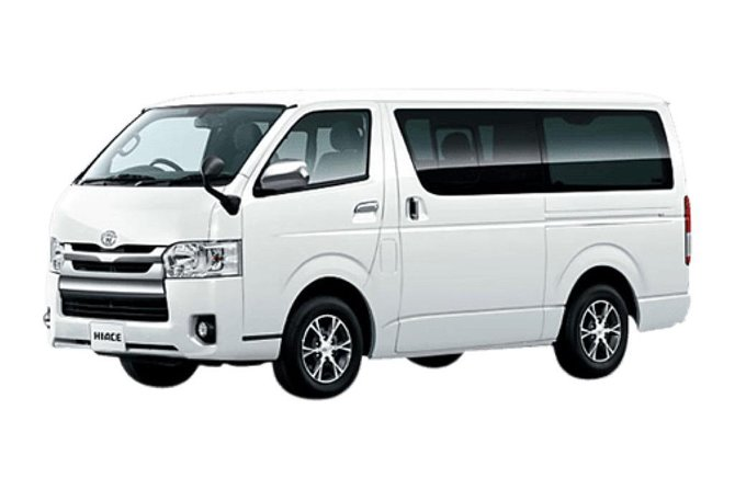 2 Days 1 Night OSAKA HIROSHIMA by Minivan Toyota HIACE 2019