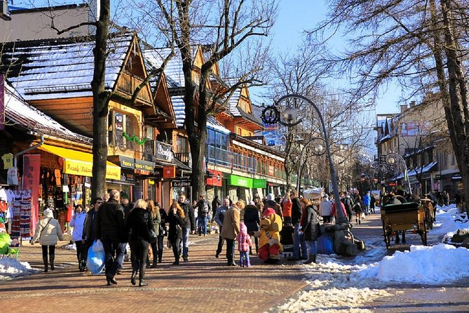 Zakopane: City - Highlights Private Walking Tour
