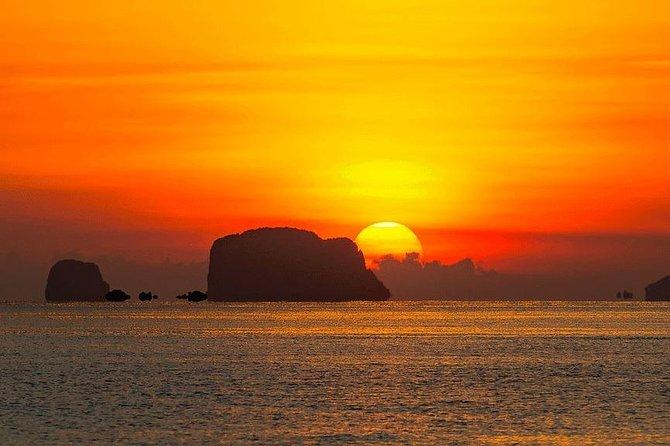 Phang Nga Bay Sunset Cruise Dinner with Sea Canoe and Loy Krathong from Phuket