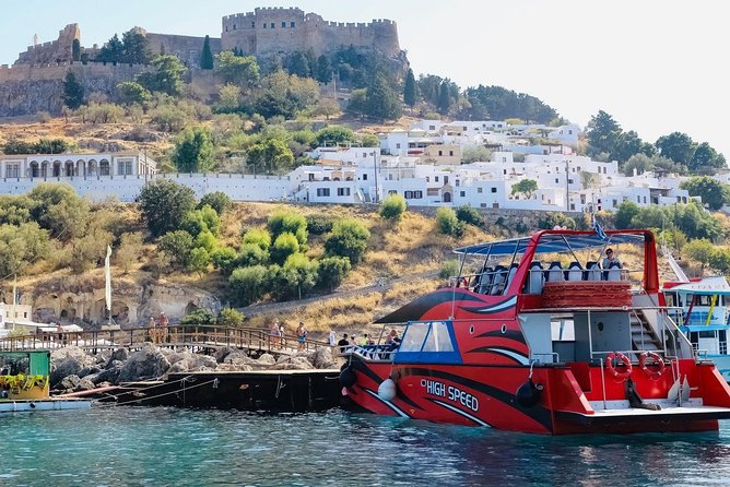 High Speed Boat To Lindos From Rhodes By Panda Travel & Shipping