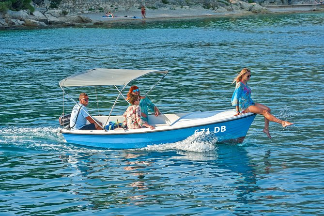 Your Own Sea Adventure Rent a BOAT for 6 pax ️- Explore Dubrovnik by Yourself