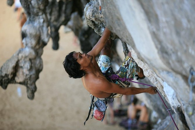 Full day Rock Climbing Experience @ Railay, Krabi
