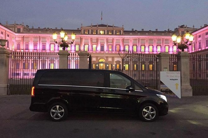 Airport transfer from hotel in Rome