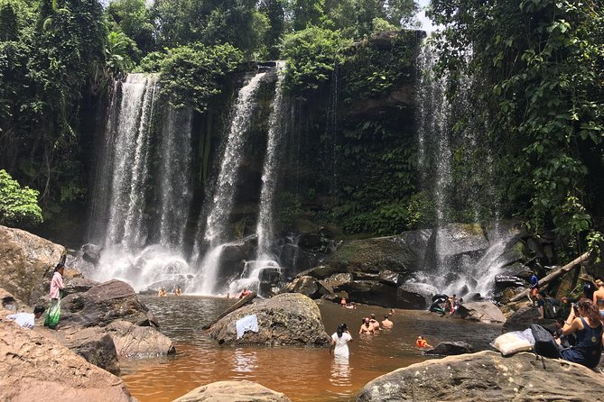 A Day Trip to Kulen Waterfall, One Thousand River Linga, Reclining Buddha