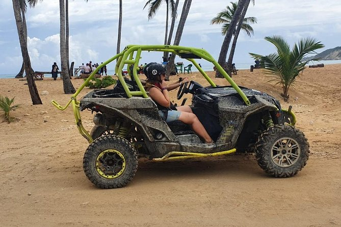 4WD Terracross + Macao Beach and swimming in a river cave photo 2