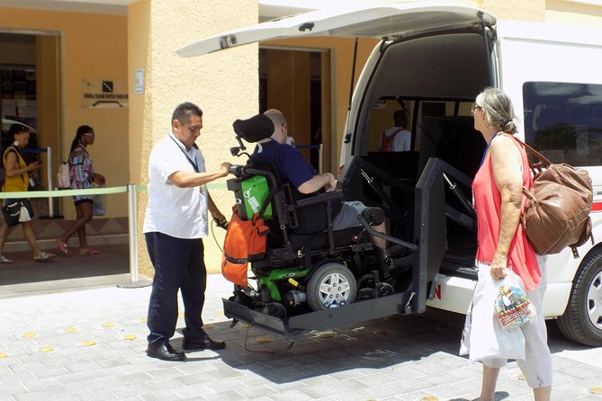 Private Cozumel wheelchair accessible adventure