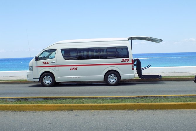 Private Shuttle Cozumel Hotel (Downtown Area) - Airport (Round Trip)