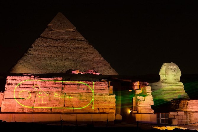 Dinner and evening show at the Pyramids of Giza