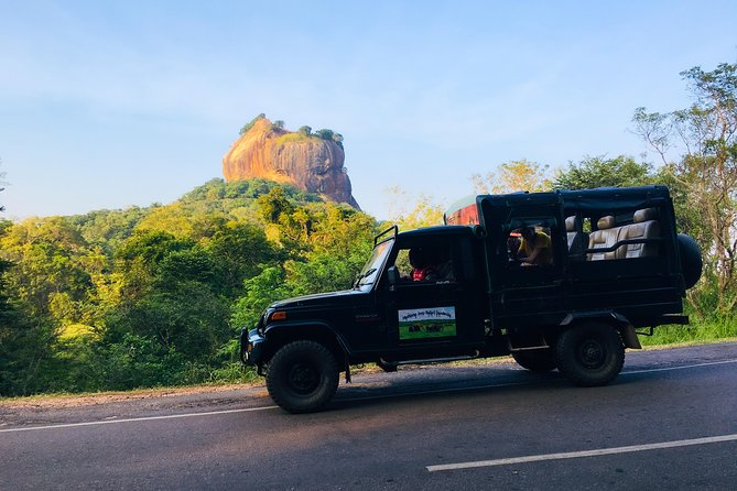 Sigiriya Lion Rock & Evening Jeep Safari
