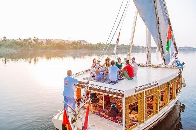 Best Local Tour : banana island&camel island by traditional Egyptian felucca
