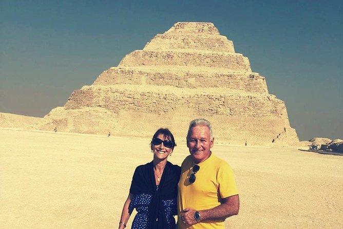 Private Day Tour to The Great Pyramids of Giza & Sakkara Pyramid