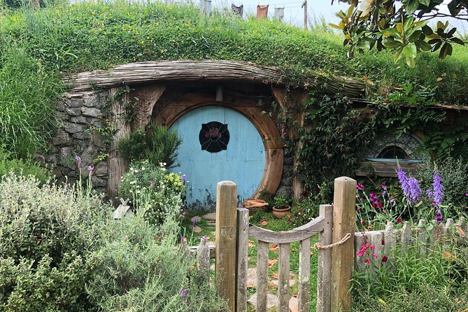 Hobbiton Movie Set with Auckland City Highlight Small Group Tour from Auckland