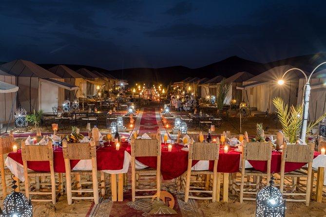 Merzouga dunes luxury camps