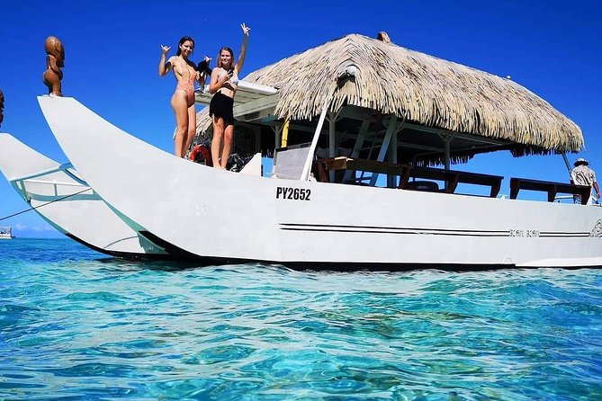 Snorkeling with sharks and sting rays half day group tours bora bora photo 8