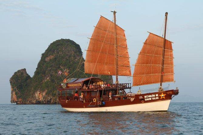 Junk trip between Krabi and Phuket> 5 days 4 nights