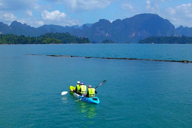Cheow Lan Lake and Coral Cave Tour with Kayaking: from Phuket