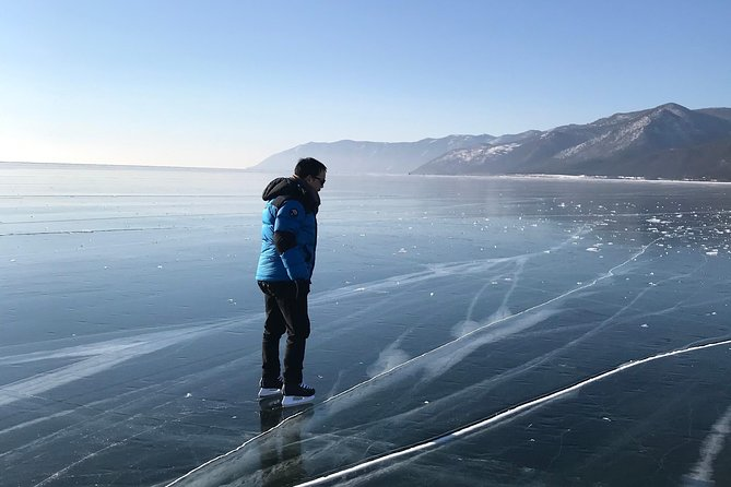 Winter adventure on the Lake Baikal photo 4
