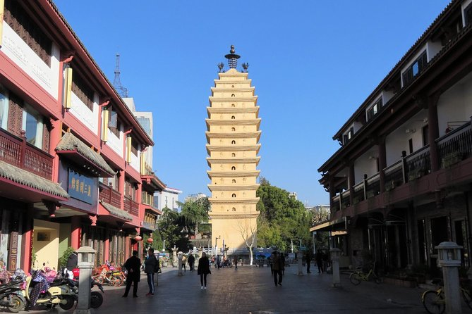 1-Day Kunming tour with the Green Lake,Bird & Flower market and Yuantong Temple