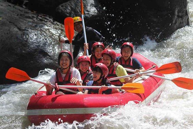 Bali Sunrise Trekking and Ayung White Water Rafting