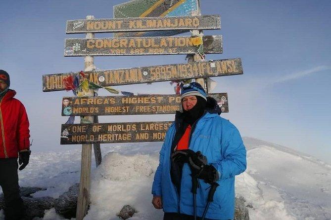 5 days Kilimanjaro climbing through Marangu route