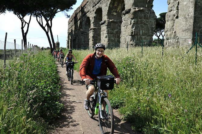 Ancient Appian Way, Catacombs and Roman Aqueducts Electric-Assist Bicycle Tour photo 2