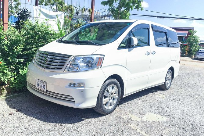 Phnom Penh - Siem Reap Private Transfer With English Speaking Driver