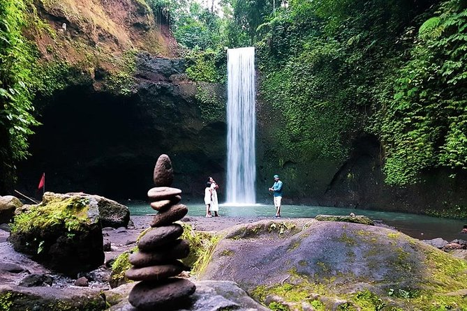 Bali Hidden Waterfalls and local Night Market