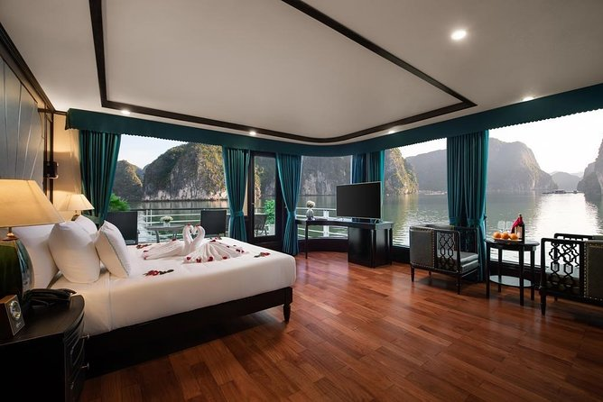 ASPIRA CRUISE - Ha Long Bay & Lan Ha Bay 2 Days 1 Night Luxurry Tour photo 17
