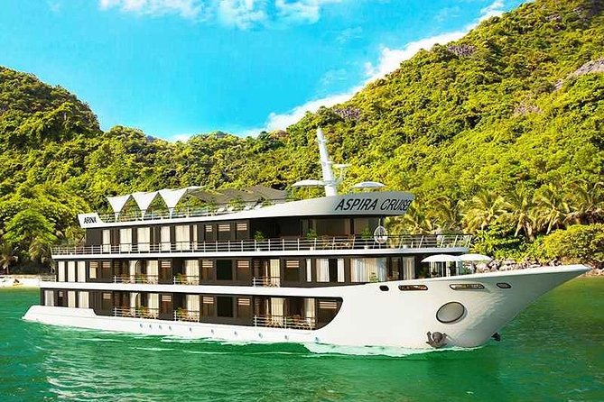 ASPIRA CRUISE - Ha Long Bay & Lan Ha Bay 2 Days 1 Night Luxurry Tour photo 9