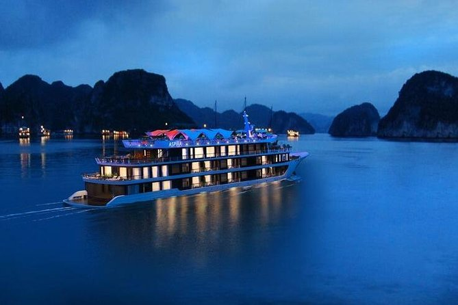 ASPIRA CRUISE - Ha Long Bay & Lan Ha Bay 2 Days 1 Night Luxurry Tour photo 2