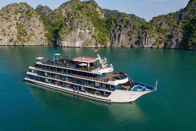 ASPIRA CRUISE - Ha Long Bay & Lan Ha Bay 2 Days 1 Night Luxurry Tour photo 13