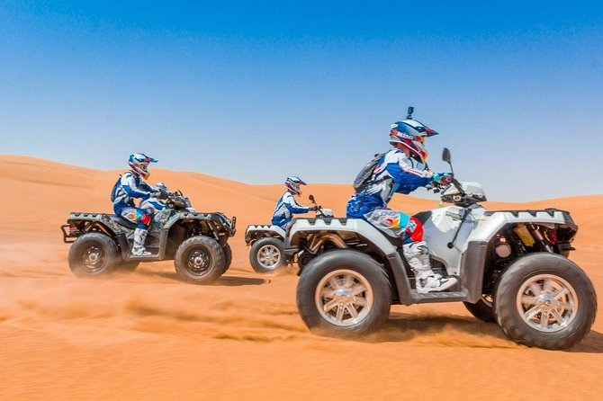 Desert Safari with Dune Bashing and Unlimited 4 course Barbecue Dinner photo 3