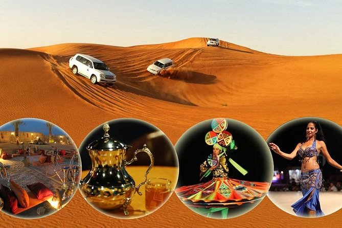 Desert Safari with Dune Bashing and Unlimited 4 course Barbecue Dinner photo 1