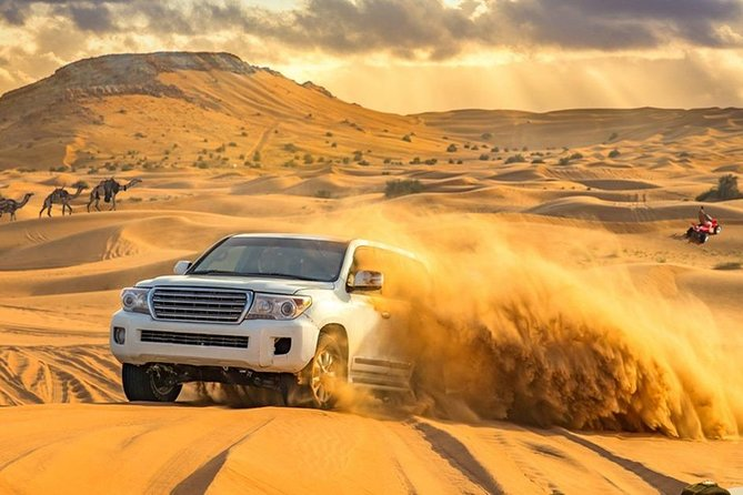 Desert Safari with Dune Bashing and Unlimited 4 course Barbecue Dinner photo 6